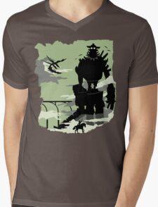 Silhouette of the Colossus Mens V-Neck T-Shirt