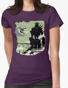 Silhouette of the Colossus Womens T-Shirt