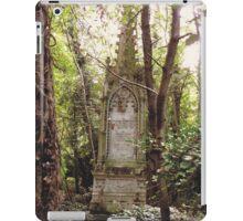 Highgate Cemetery Mears Memorial iPad Case/Skin