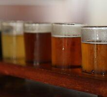 James Squire beer sampler by Ren Provo