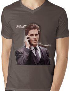 Matt Bomer Mens V-Neck T-Shirt