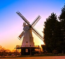 Kentish Smock Mill by JEZ22