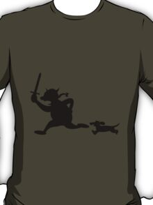 Viking attack with dachshunds T-Shirt