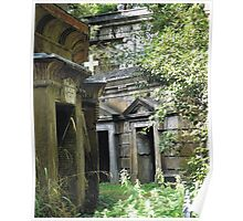 Highgate Cemetery within the Circle of Lebanon Poster