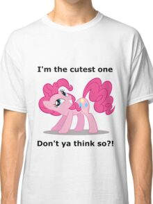 Pinkie Pie is the cutest Classic T-Shirt