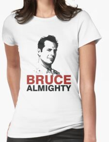 Bruce Willis Womens Fitted T-Shirt