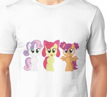 CMC with Pigtails Unisex T-Shirt