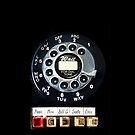 Vintage Dial Phone with Emergency Button apple iphone 5, iphone 4 4s, iPhone 3Gs, iPod Touch 4g case by www. pointsalestore.com