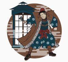 Sensei Who (Textured Version) Kids Clothes