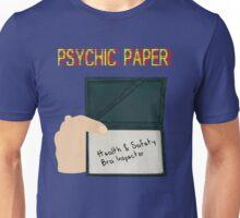 Psychic paper Unisex T-Shirt