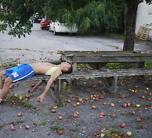 Andrej ,and the naked Appletree by narcyss