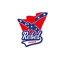 Rebel Phone / Confederate Flag by MrFaulbaum
