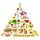 Food Pyramid by photolcu