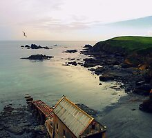 """"""" Early Light , Lizard Point """" by Richard Couchman"""