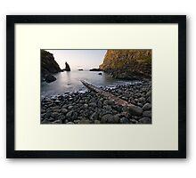 Portcoon, County Antrim, Northern Ireland Framed Print