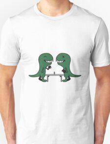 Funny Table Tennis Dinos T-Shirt