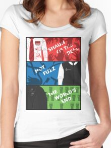Cornetto Trilogy Women's Fitted Scoop T-Shirt