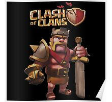 Babarian - Clash Of Clans Poster