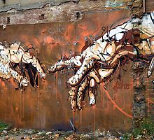 Hands, Brick Lane by Respire