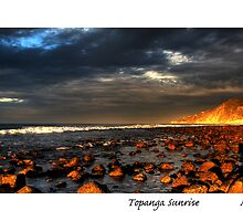 Topanga Sunrise by MjhArt