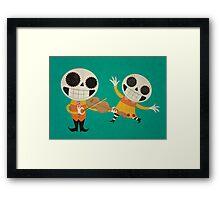 Hola Me Amigo Framed Print