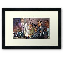 GTA 5 artwork Framed Print