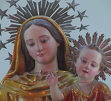 Our Lady of The Rosary by fajjenzu