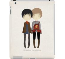 Cute Merlin and Arthur / MERTHUR iPad Case/Skin