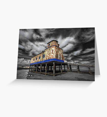 Lifeboat Station Colourised Greeting Card