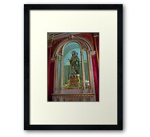 Our Lady of The Rosary Framed Print