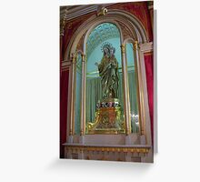 Our Lady of The Rosary Greeting Card
