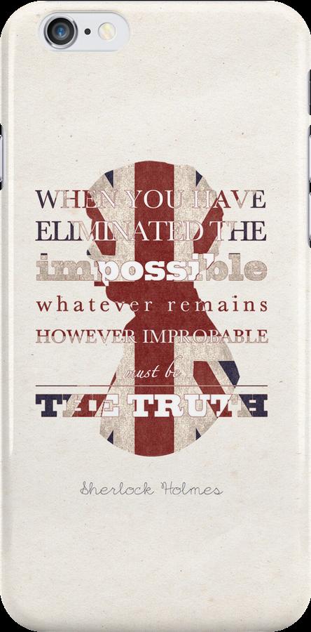 Sherlock Holmes quote by koroa