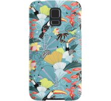 tropical birds Samsung Galaxy Case/Skin