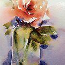 The orange rose by Karl Fletcher