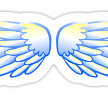 Feathered Wings Sticker