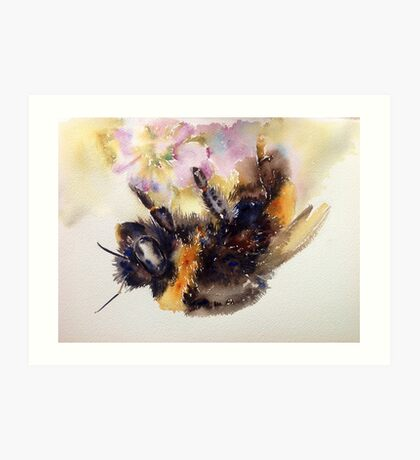 The return of Mr Bumble Art Print