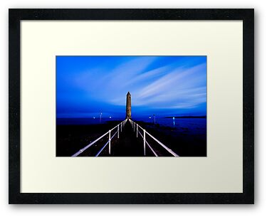 Chaine Memorial Tower , Larne , County Antrim , Northern Ireland by Zdrojewski