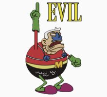 Mermaid Man - EVIL! Shirt/Sticker by FOEMerch