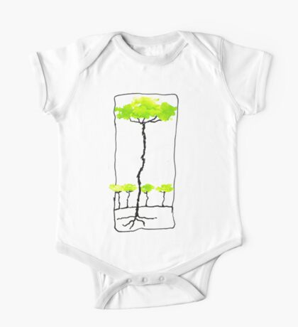Trunky Trees One Piece - Short Sleeve