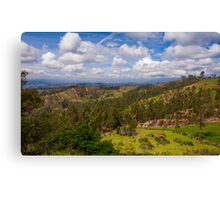 On the Trail to Cojitambo, Ecuador 2 Canvas Print