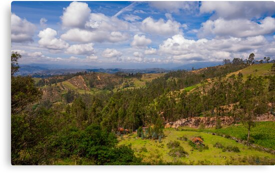 On the Trail to Cojitambo, Ecuador 2 by Paul Wolf