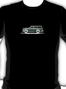 Volvo Amazon Station Wagon Kombi Green Eerkes Dad's and Boyfriend's T-Shirt