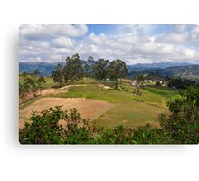 On the Trail to Cojitambo, Ecuador 3 Canvas Print