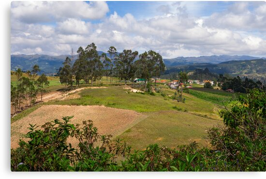 On the Trail to Cojitambo, Ecuador 3 by Paul Wolf