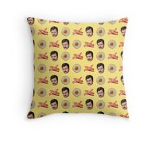 Eggs, Bacon, Ron Swanson Throw Pillow