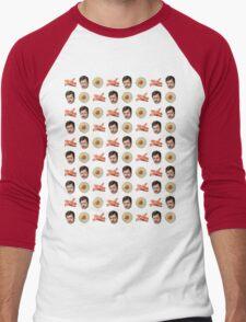 Eggs, Bacon, Ron Swanson Men's Baseball ¾ T-Shirt