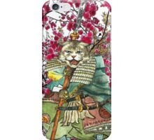 Sakura Samurai Cat iPhone Case/Skin