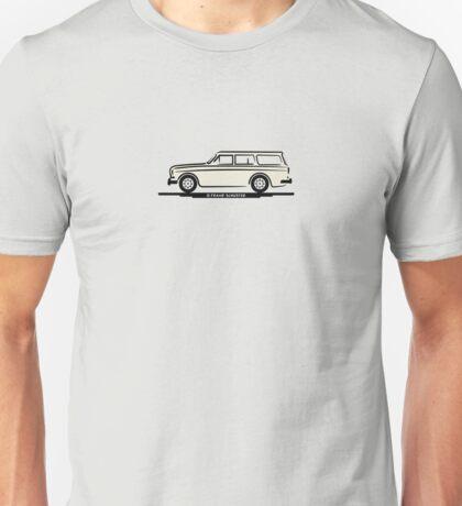 Volvo Amazon White Eerkes' Boyfriend's Mom Unisex T-Shirt