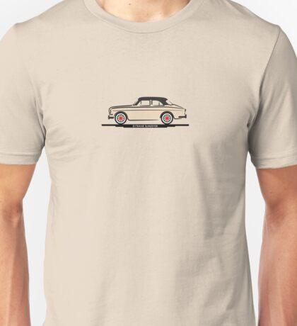 Volvo Amazon White Eerkes Mom and Dad's Car Unisex T-Shirt