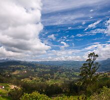 On the Trail to Cojitambo, Ecuador 6 by Paul Wolf